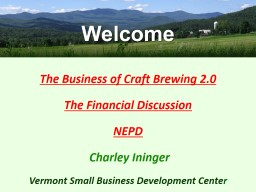 The Business of Craft Brewing 2.0