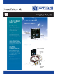 OutSide Walkin Pros for over  years Smart Defrost Kit