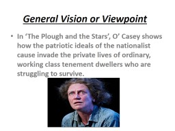 General Vision or Viewpoint
