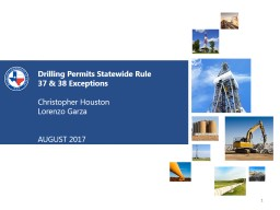 Drilling Permits Statewide Rule