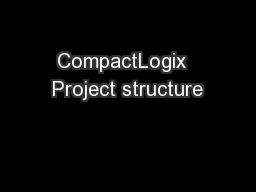 CompactLogix  Project structure