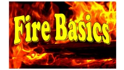Fire Basics / Fire Investigation Terms