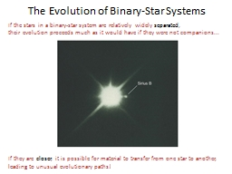 If the stars in a binary-star system