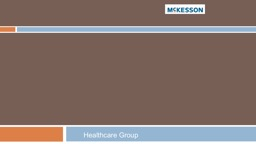 McKesson (MCK) Healthcare Group
