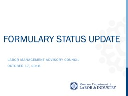 LABOR MANAGEMENT ADVISORY Council
