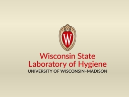 Wisconsin State Laboratory of