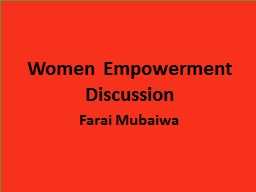 Women Empowerment Discussion