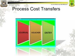 Process Cost Transfers