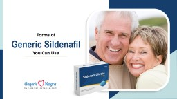 Forms of Generic Sildenafil Citrate You Can Use PowerPoint PPT Presentation