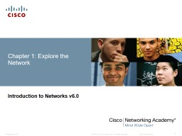 Chapter 1: Explore the Network