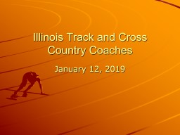 Illinois Track and Cross Country Coaches