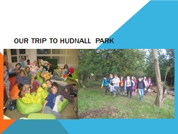 OUR TRIP TO HUDNALL PARK