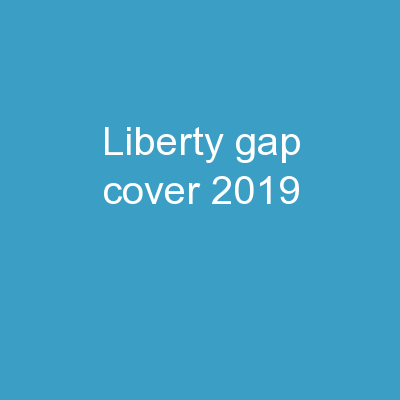 LIBERTY GAP  COVER  2019