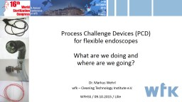Process Challenge Devices (PCD)