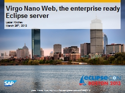 Virgo Nano Web, the enterprise ready Eclipse server