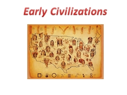Early Civilizations SS8H1