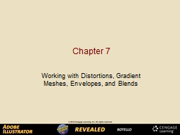 Chapter 7 Working with Distortions, Gradient Meshes, Envelopes, and Blends PowerPoint PPT Presentation