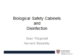 Biological Safety Cabinets PowerPoint PPT Presentation