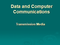 Data and Computer Communications PowerPoint Presentation, PPT - DocSlides