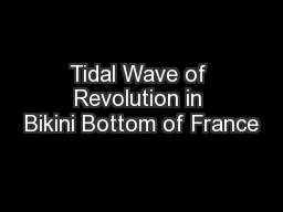 Tidal Wave of Revolution in Bikini Bottom of France