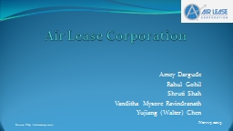 Air Lease Corporation Amey Dargude