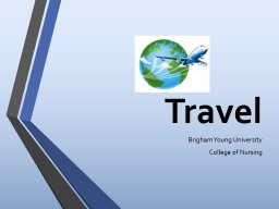 Travel  Brigham Young University