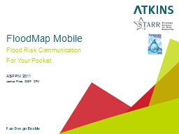 FloodMap Mobile Flood Risk Communication