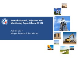 Annual Disposal / Injection Well