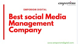 EMPORIOM DIGITAL – TOP DIGITAL MARKETING AGENCY IN PENNSYLVANIA