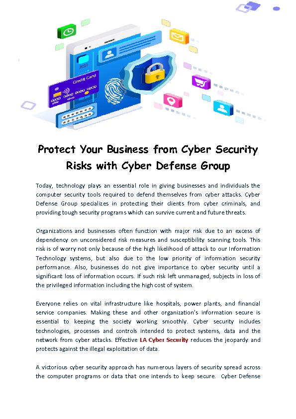 Cyber Security - CDG.io