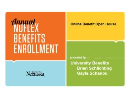 Online Benefit Open House