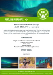 Special Aurora Borealis package