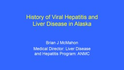 History of Viral Hepatitis and Liver