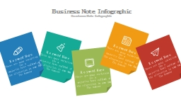 Business Note Infographic