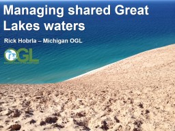 Managing shared Great Lakes waters