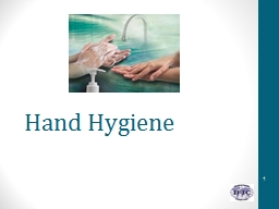Hand Hygiene Learning objectives