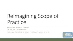 Reimagining  Pharmacist Scope