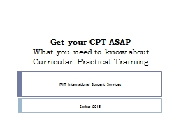 Get your CPT ASAP What you need to know about