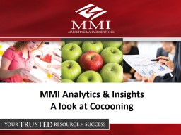 MMI Analytics & Insights