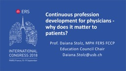 Continuous profession development for physicians - why does it matter to patients?