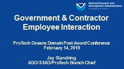 Government & Contractor Employee