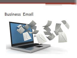 Business Email Basic Components
