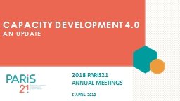 Capacity development 4.0