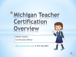 Debbie Seyerle Certification Officer