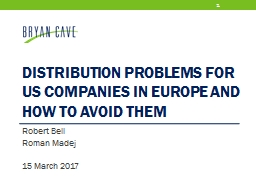 Distribution Problems for US Companies in Europe and How to Avoid Them