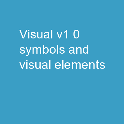 VISUAL v1.0 – Symbols and Visual elements