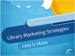 Library Marketing Strategies