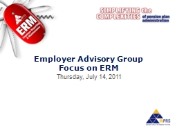 Employer Advisory Group