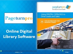 Online Digital Library Software