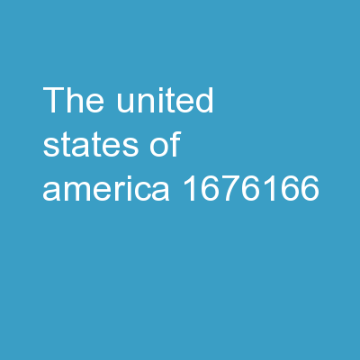 The United States of America PowerPoint Presentation, PPT - DocSlides